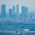 Photos: 本宮山頂上手前の雨宮社から見た景色 - 18:名駅ビル群と県営名古屋句稿
