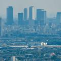 Photos: 本宮山頂上手前の雨宮社から見た景色 - 19:名駅ビル群と県営名古屋句稿