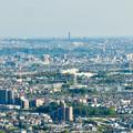 Photos: 本宮山頂上手前の雨宮社から見た景色 - 20:東山スカイタワー
