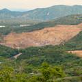 Photos: 本宮山頂上手前の雨宮社から見た景色 - 23:白山裏の採石場