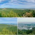 Photos: 本宮山頂上手前の雨宮社から見た景色 - 37:パノラマ