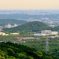 弥勒山の展望の良い休憩所から見た高森山 - 1