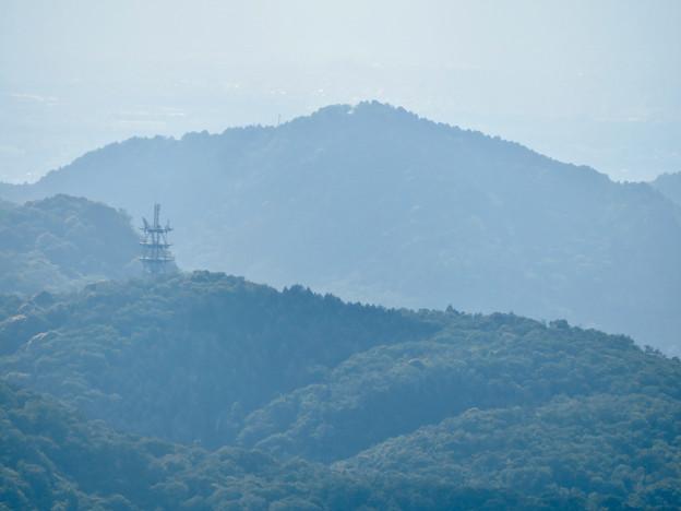 弥勒山山頂から見た本宮山 - 2