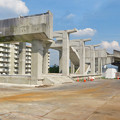 Photos: 骨組みだけになっていた解体工事中の桃花台線桃花台東駅(2020年5月23日) - 7