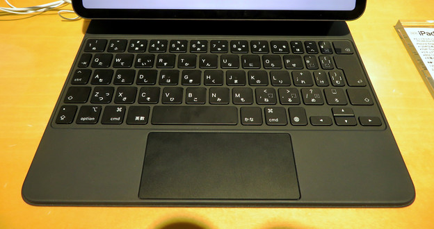 IPad Pro 2020装着中のMagic Keyboard No - 7:キーボード部分