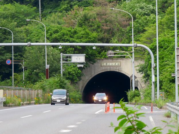国道19号の内津トンネル(春日井市側)- 1