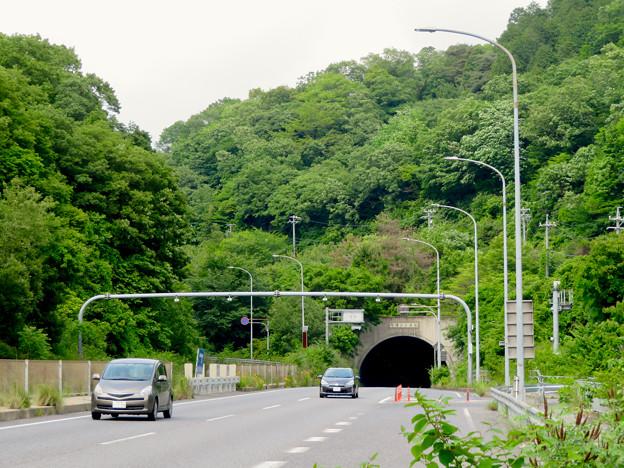 国道19号の内津トンネル(春日井市側)- 2