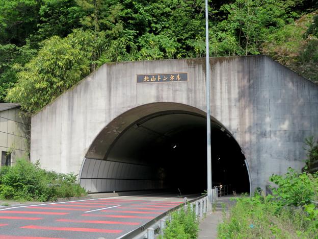 国道19号の北山トンネル - 2
