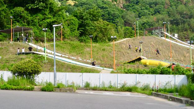 国道19号沿いにあるスキー・スノーボードジャンプ練習施設「愛知クエスト」 - 8
