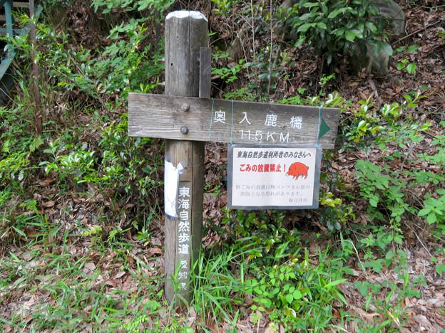東海自然歩道春日井コースの内津峠側入り口 - 2