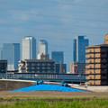 新川沿いから見た名駅ビル群 - 3