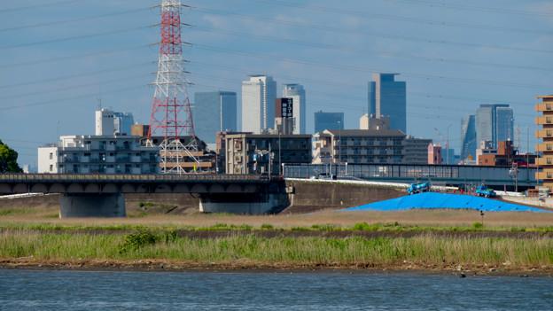 Photos: 新川沿いから見た名駅ビル群 - 4