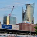 スパイラルタワーズと建設中のビル