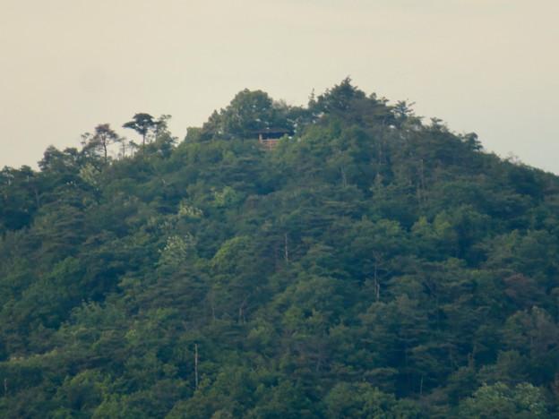 大谷川の橋の上から見た弥勒山 - 2