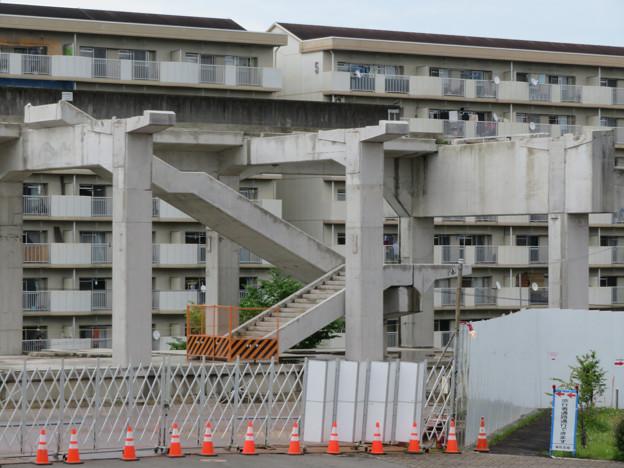 Photos: 桃花台線の桃花台東駅解体撤去工事(2020年5月31日) - 9