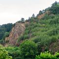 Photos: 北側から見た本宮山 - 5:崖の部分