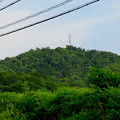 Photos: 山の上にある反射板 - 1