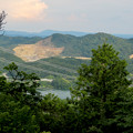 Photos: 尾張富士山頂から見た景色 - 11:白山と入鹿池