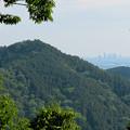 Photos: 尾張富士山頂から見た景色 - 16:本宮山越しに見えた名駅ビル群