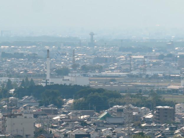 尾張富士中伏から見た景色 - 3:すいとぴあ江南