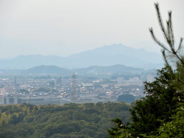 尾張富士中伏から見た景色 - 6:金華山