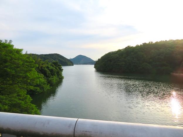 入鹿大橋から見た景色 - 1:本宮山