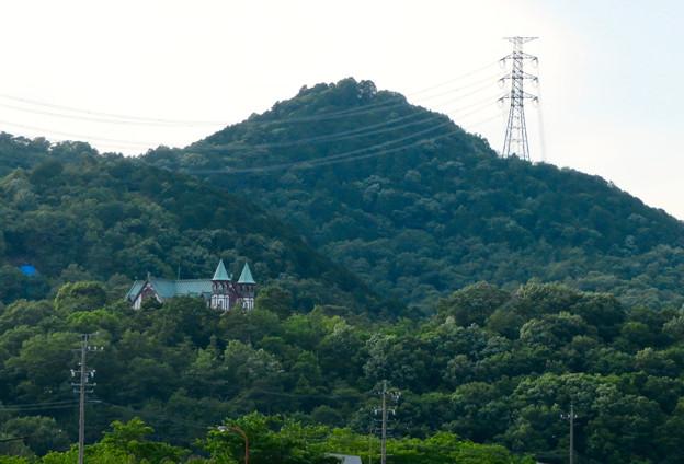 入鹿池沿いから見た尾張富士 - 2