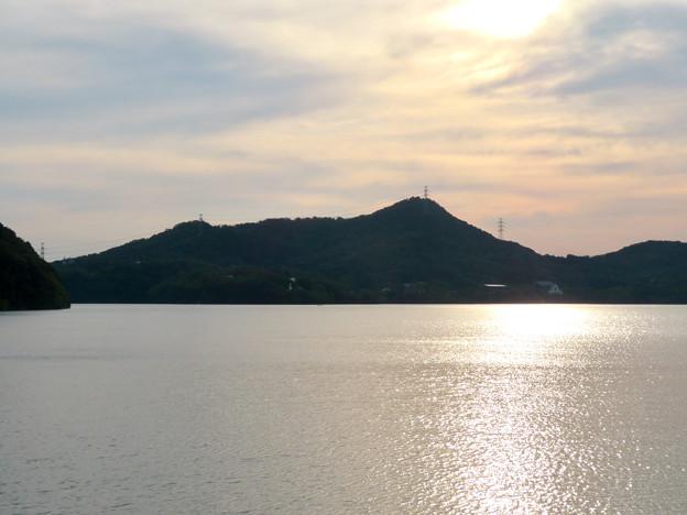 入鹿池沿いから見た尾張富士 - 5
