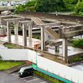 解体工事中の桃花台線桃花台東駅(2020年6月13日) - 7
