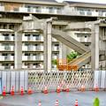 解体工事中の桃花台線桃花台東駅(2020年6月13日) - 14