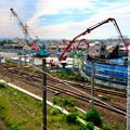 建設中のリニア中央新幹線 神領非常口(2020年6月21日) - 1
