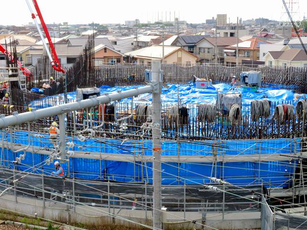 建設中のリニア中央新幹線 神領非常口(2020年6月21日) - 3
