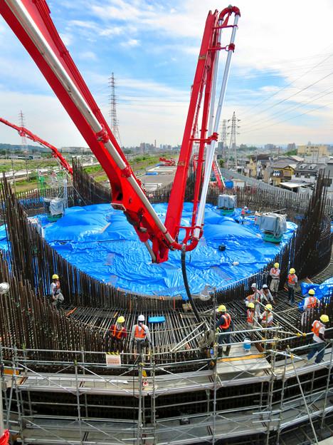 建設中のリニア中央新幹線 神領非常口(2020年6月21日) - 4