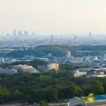 西高森山の山頂から見た景色 - 6:名駅方面
