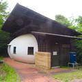 Photos: 海上の森 - 19:繭玉広場の建物