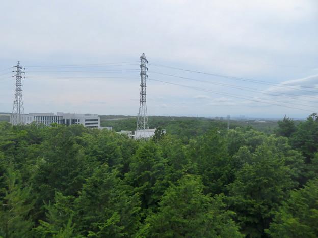海上の森 - 33:物見の丘(展望台)の展望階から見える景色