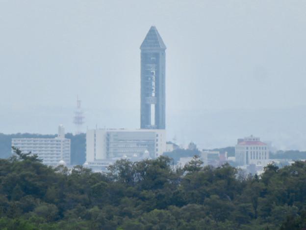 海上の森 - 36:物見の丘(展望台)から見た東山スカイタワー