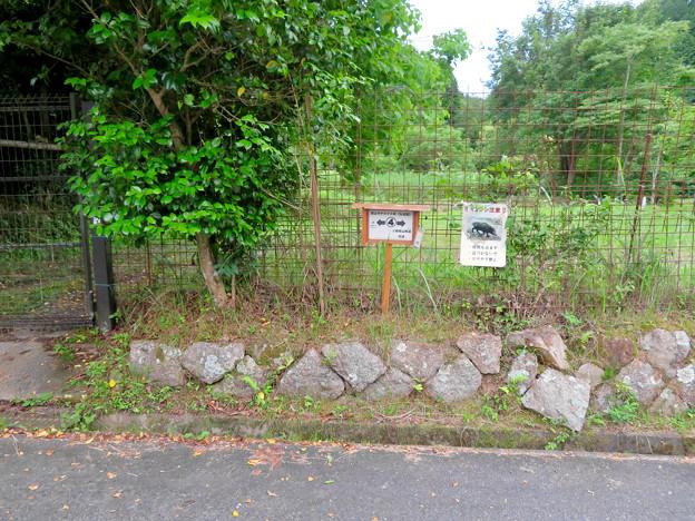 海上の森 - 99:里山サテライト前(弘法堂)4番の案内板