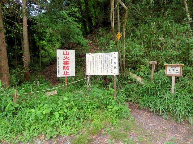Photos: 海上の森 - 113:四ツ沢2番の案内板