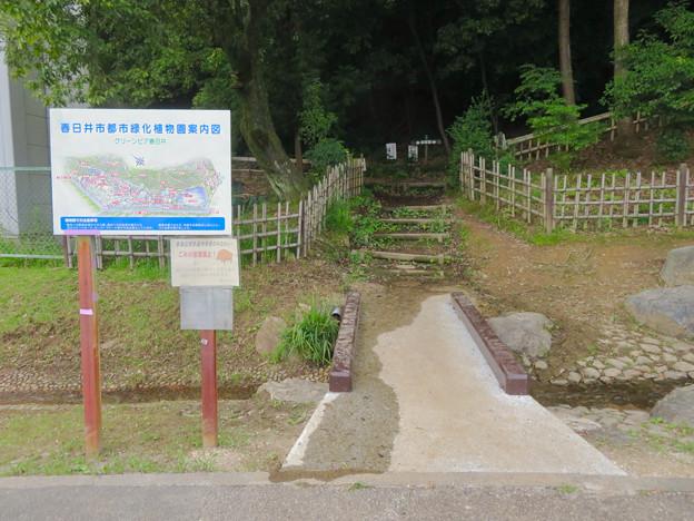大谷山 - 1:グリーンピア春日井内の登山道入り口