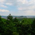 大谷山 - 19:岩山休憩所近くにある巨大な岩から見た景色