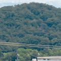大谷山 - 21:岩山休憩所近くにある巨大な岩から見た高森山