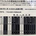 中央道桃花台:名古屋方面が運行再開も、まだ一部の便のみ(2020年6月27日撮影)