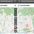 Photos: 細かい川の名前も表示される「OpenStreetMap」- 3