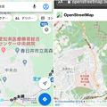細かい川の名前も表示される「OpenStreetMap」- 6