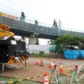 Photos: 桃花台線の国道155号立体交差手前の高架撤去工事(2020年7月10日) - 4