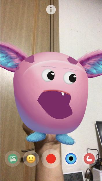 ARでパペット人形が楽しめる「YoPuppet」- 12:謎の宇宙生物!?