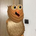 Photos: ARでパペット人形が楽しめる「YoPuppet」- 13:面長のフクロウ