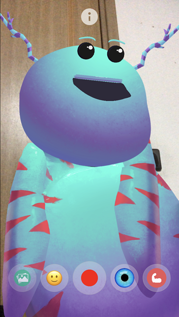 ARでパペット人形が楽しめる「YoPuppet」- 16:謎の宇宙生物