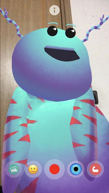 Photos: ARでパペット人形が楽しめる「YoPuppet」- 16:謎の宇宙生物